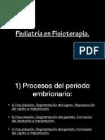 Pediatría en Fisioterapia