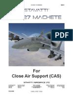 SM-27 Machete for CAS