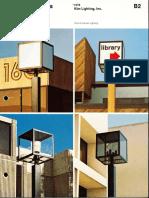 Kim Lighting Framed Cubes Brochure 1976