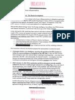 Schiff Memo on FBI Surveillance