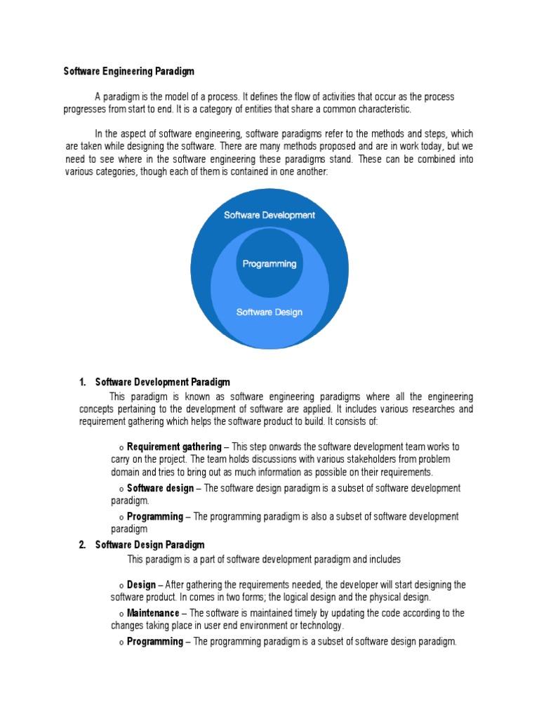 Written Report Chapter Ii Software Engineering Paradigm Software Prototyping Software Development