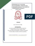 Biomasa Agricola y Agroindustrial, 2017
