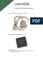 CARPROG Motorola HC11 Programmer Manual