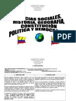 Plan de Estudio Sociales 1