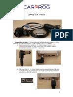 CARPROG User Manual