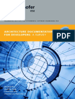Fraunhofer-IESE Software Architecture Documentation for Developers-A Survey