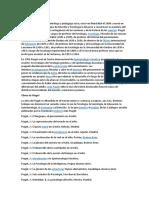 Biografia de Piaget UPEL