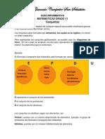 Guía Informativa 1 Undécimo