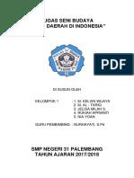 Tugas Seni Budaya 31 Palembang