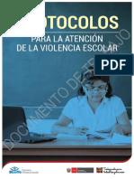2. Protocolos Para La Atención de La Violencia Escolar