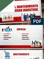 Empresa, Mantenimiento y Seguridad Industrial