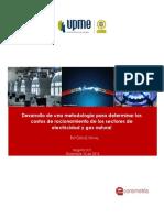 Informe Final Desarrollo de Una Metodología Para Determinar Los Costos