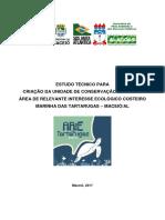 Estudo Técnico ARIE Tartas 2017.05.05