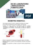 Examenes de Laboratorio y Su Indicacion en Estomatologia (1)