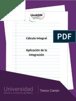 Unidad 2. Aplicaciones de La Integracion