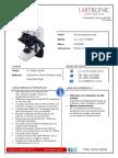 Cotizacion Equipo Microscopio CxL Labomed - LO-14-2018