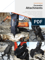 Heavy Excavator Attachments En