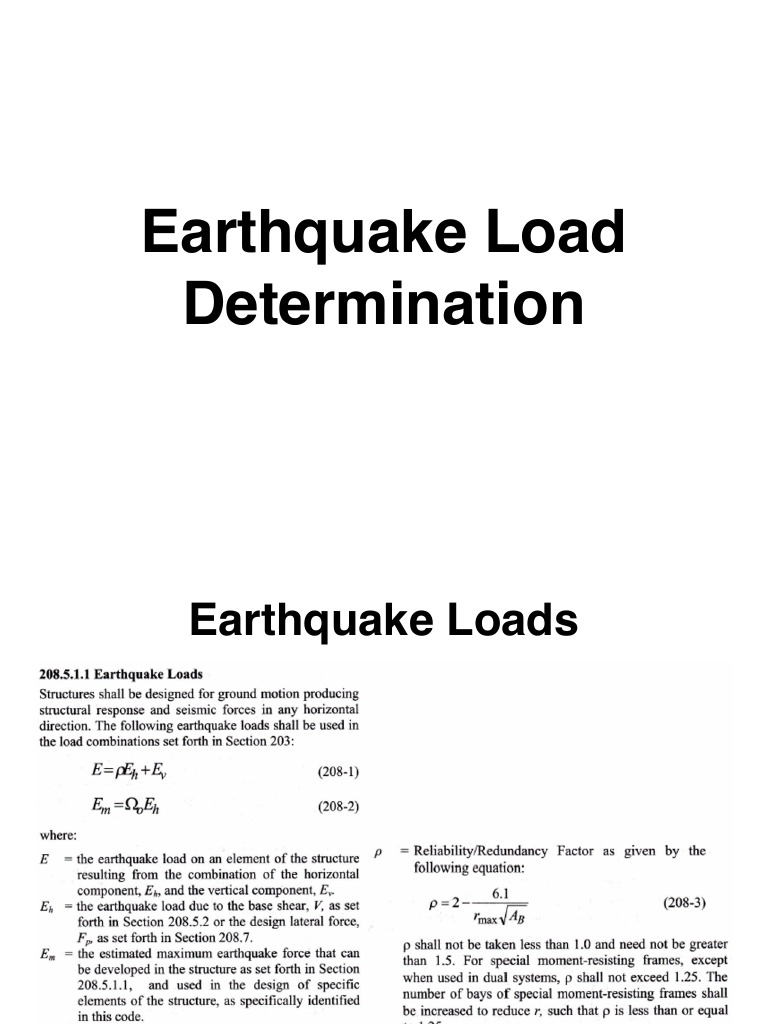 Earthquake Methods | Building | Building Engineering