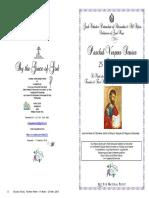 2018 25 April Paschal Vespers St Mark