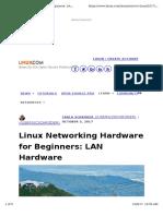 LAN Hardware Tutorial