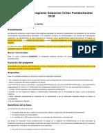 Estancias Cortas Postdoctorales 2018 C.201809 02 2018 02 Feb