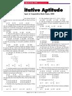 Bank Exam 2001