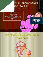 Perkembangan Neonatos Dan Bayi