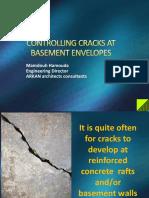 Controlling Cracks at Basement Envelopes - By Mamdouh Hamouda