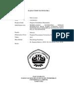 Analisis Tesi Fitria Lestari 1423021021