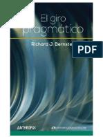 L - El Giro Pragmatico by Richard J. Bernstein