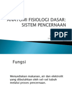 Anatomi Fisiologi Dasar Digestiv