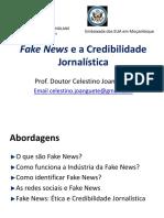 Fake News e a Credibilidade Jornalística