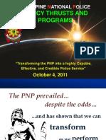 Chief, PNP's 10-Point Agenda