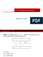 Physics 73 Review