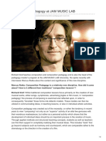 JAM MUSIC LAB University – Composition Pedagogy – Richard Graf