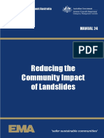 Manual 24 Reducing the Community Impact of Landslides