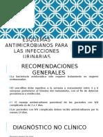 Infecciones Urinarias TX y Dx