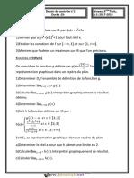 Devoir de Contrôle N°1 - Math - 3ème Technique (2017-2018) Mr Bouzouraa..Anis