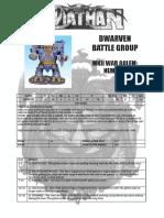 Nemesis Mk2 Wargolem Part 1