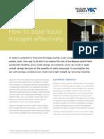Liquid Nitrogen Dosing