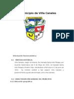 Informacion  Municipio de Villa Canales