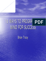 Brian Tracy - 18 Ways to Program the Mind for Success - Power Point Presentation.pdf