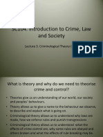 3 Criminological Theory Pt1