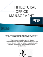 Architectural Office Management