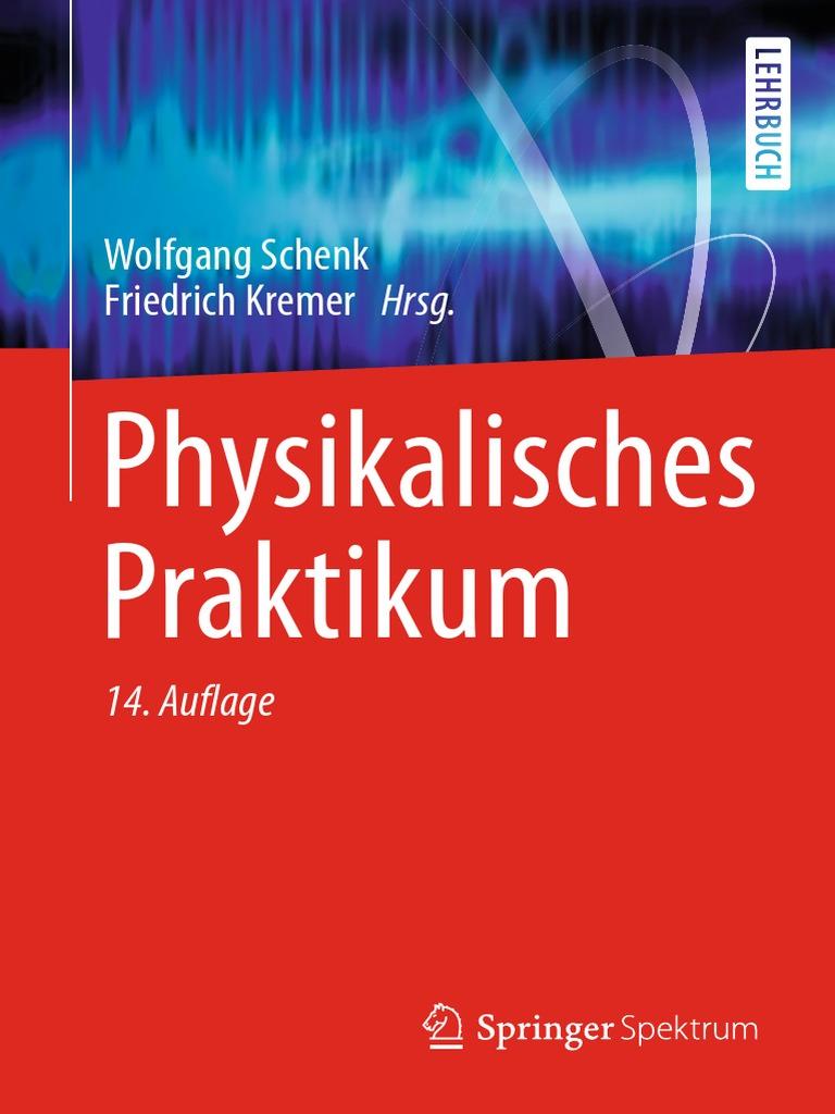 Schenk, Kremer - Physikalisches Praktikum