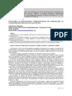 19_Calin Razvan_Evaluarea Si Dezvoltarea Competentelor de Comunicare La Consilieri Prin Metoda Jocului de Rol_RO