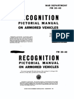 WWII Armored Vehicles Recognition