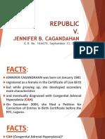 Report Cgandahan's Case