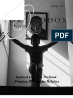 Spring 1999 Orthodox Vision Newsletter, Diocese of the West