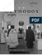Winter 1999 Orthodox Vision Newsletter, Diocese of the West